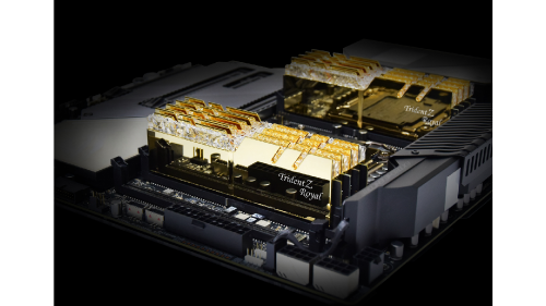 G.Skill Announces DDR4 4000 and DRR4 4300 Trident Z Royal Memory