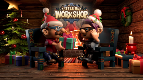 Little Big Workshop Gets Update with Winter Theme and Pause Button