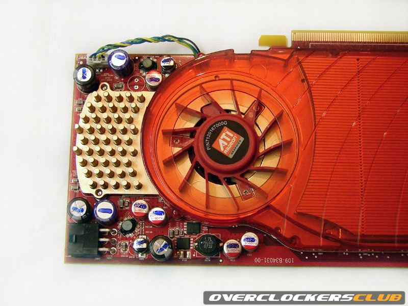HD 3850 Heatsink fan