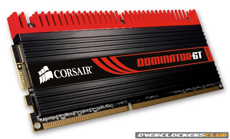 Corsair Launches Dominator GT Lineup of DDR3 Memory Modules