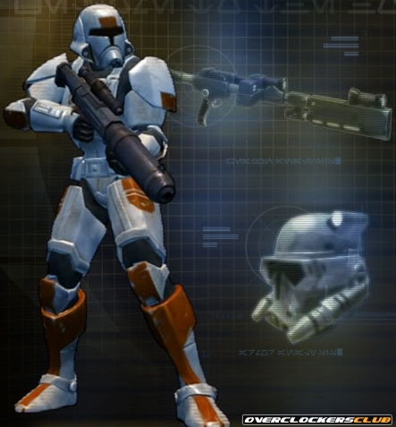 Trooper Class Unveiled for Star Wars: The Old Republic
