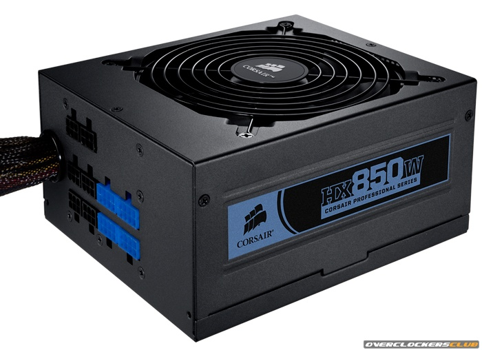 Corsair HX850 and HX750 Professional Series Power Supplies