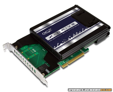 OCZ PCI-E Based Z-Drives Arrive