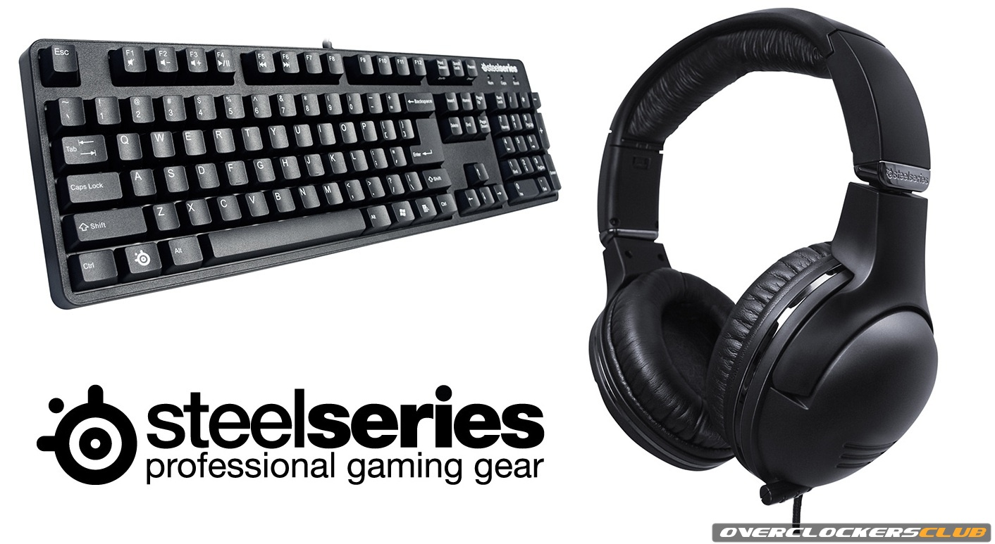 SteelSeries Unveils 7H Headset and 6Gv2 Keyboard