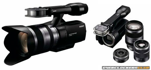 Sony Launches First Interchangeable Lens HD Camcorder