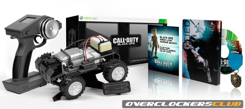 Black Ops Prestige Edition to Include RC-XD Remote Control Car