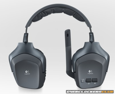 Logitech F540 Headset Allows Wireless Connection to Up to Three Sources
