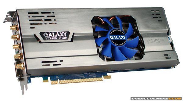 A Galaxy GeForce GTX 460 WHDI Model in the Works
