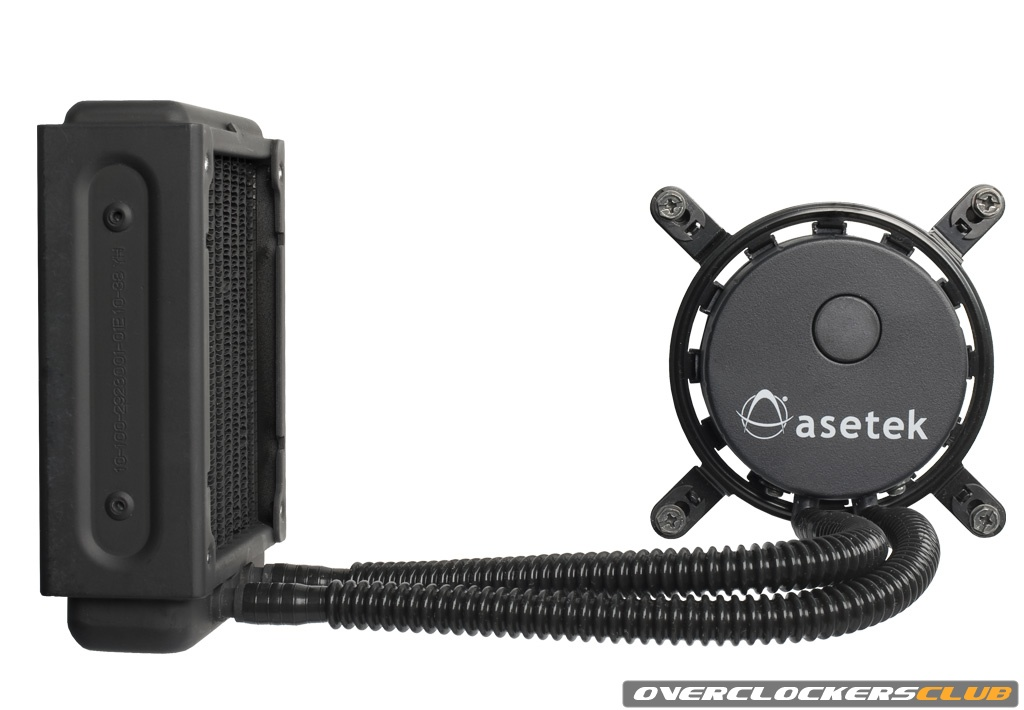 Asetek Launches Liquid CPU-Coolers for PCs with 92mm Fans