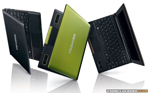 Toshiba Launches Two New Netbooks, One with Harman Kardon Sound