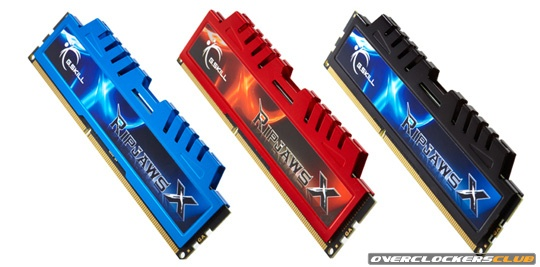G.Skill Launches RipjawsX RAM for Intel Sandy Bridge