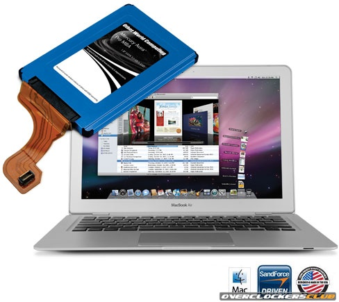 OWC Unveils Premier SandForce-Based MacBook Air SSD