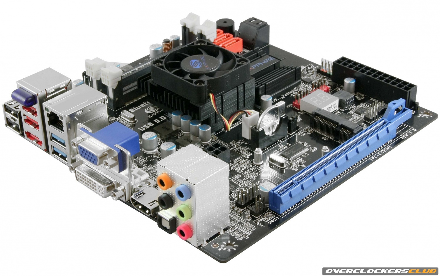 Sapphire Announces Pure White Fusion AMD APU Motherboard