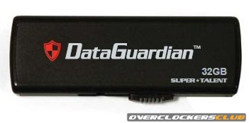 Super Talent Prepares DataGuardian Password-Protected USB Drives
