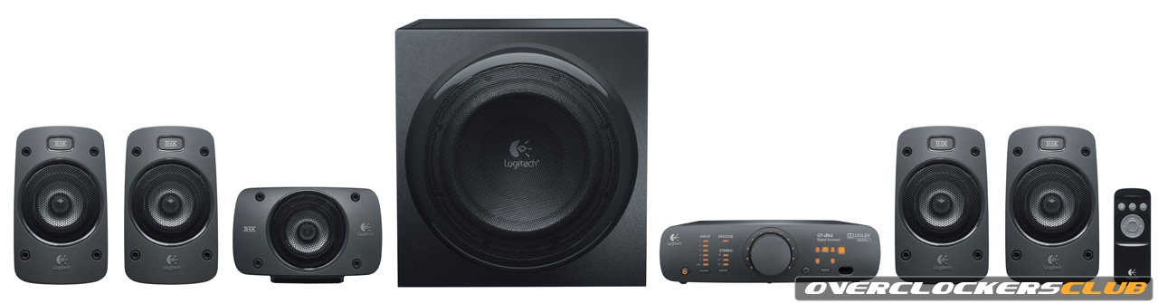 Logitech Unveils Z906 5.1 Speakers