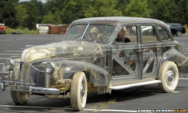 Transparent Ghost Car Sold For $308,000