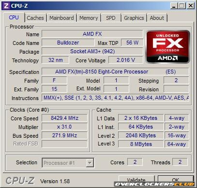 AMD's 8.4GHz OC Crowned the Fastest CPU on Earth