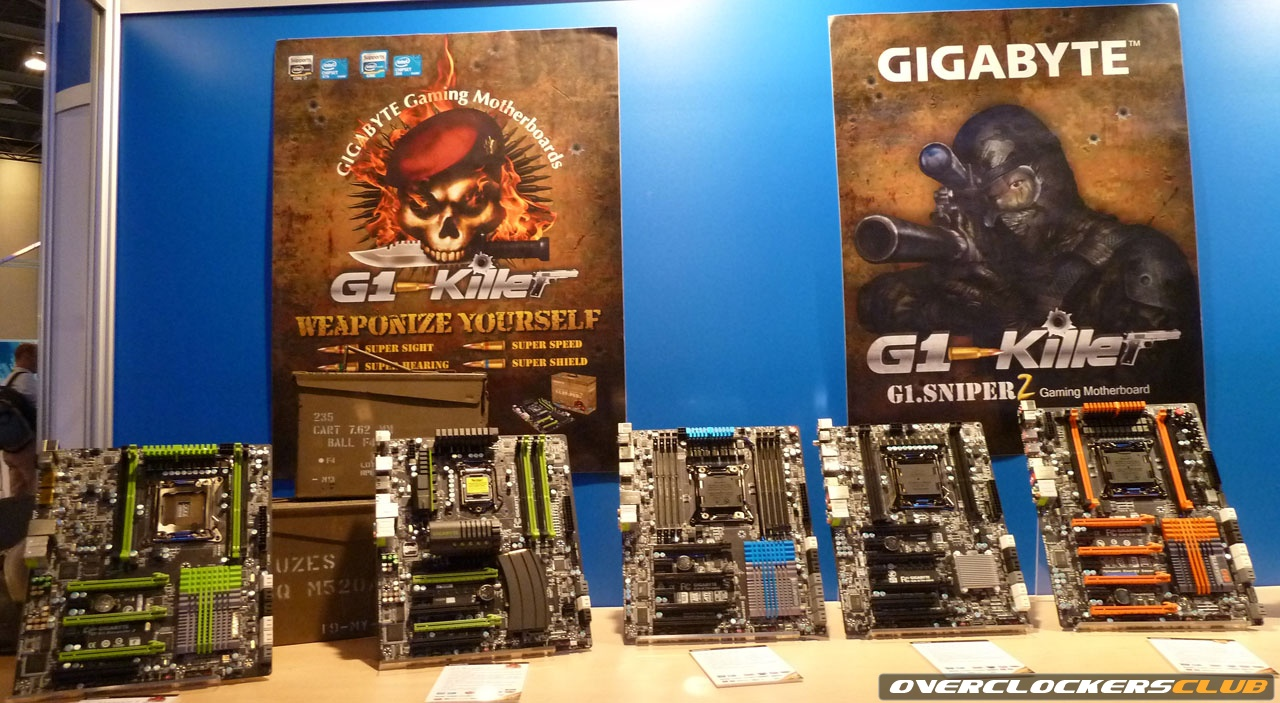 Gigabyte Unveils X79 Motherboards From IDF