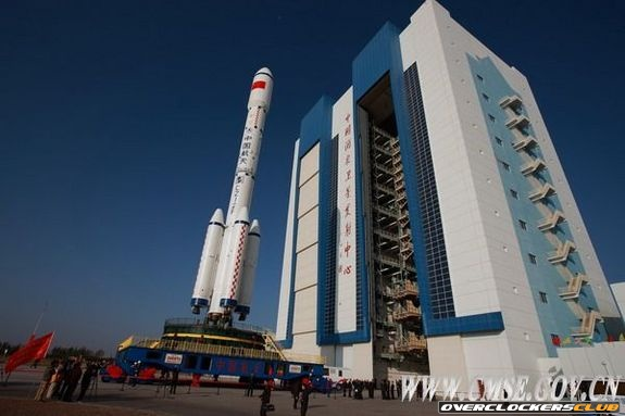 Rocket Launches Chinese Space Lab