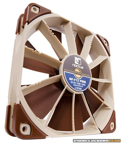 Noctua NF-F12 120mm Focused Flow Fan Announced