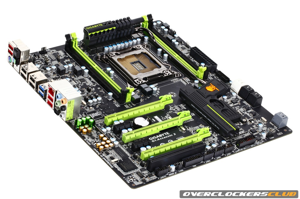 Gigabyte Shows Off Its Intel X79 Motherboard Lineup