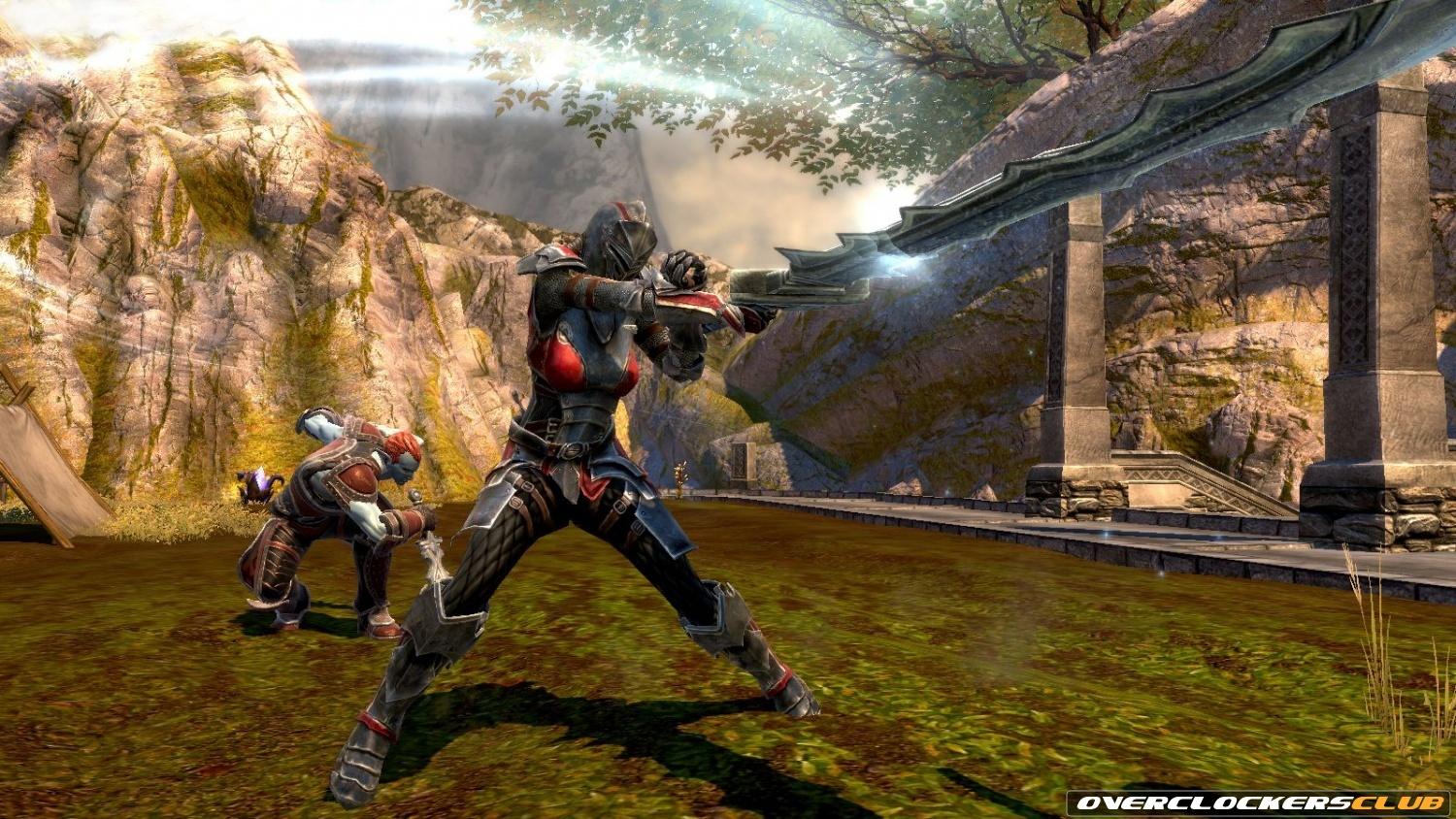 Mass Effect 3 and Kingdoms of Amalur: Reckoning Feature Item Crossover for Playing Demos