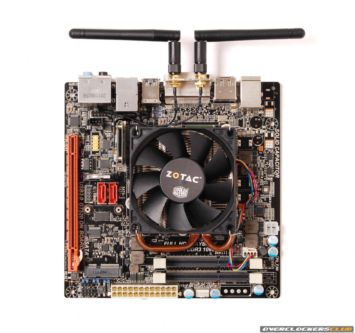 ZOTAC Announces D2700-ITX WiFi Supreme for HTPC Applications