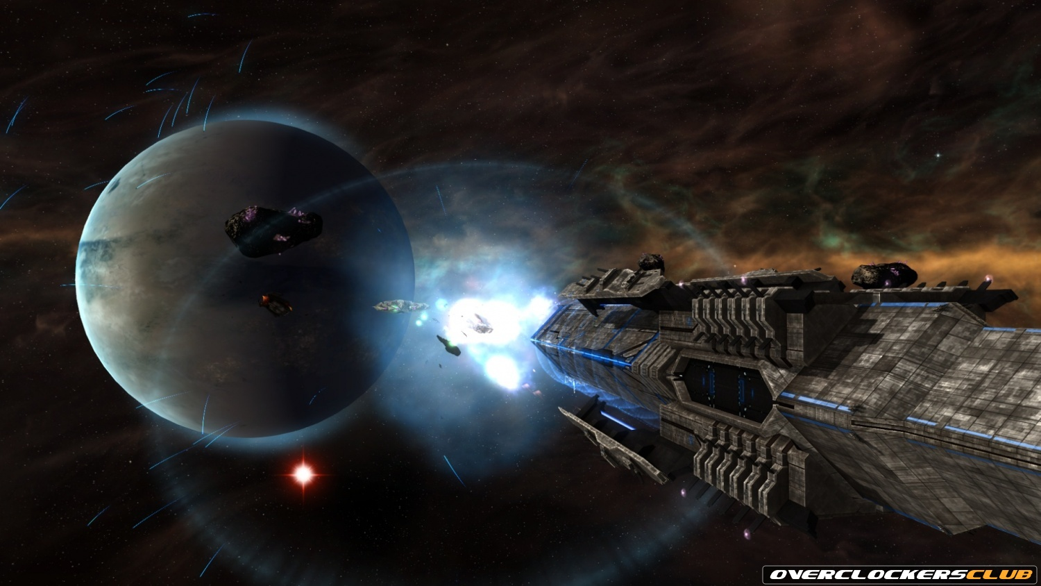 Sins of a Solar Empire: Rebellion Screenshots Show Off the Titan