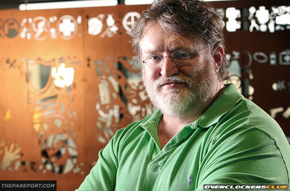 Valve's Gabe Newell Covers a Variety of Topics in New Interview - Valve Hardware, Episode 3, and More