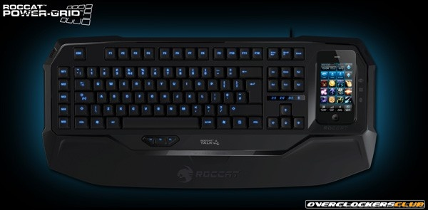 Roccat Announces Power-Grid - PC Game Controls on Your Smartphone