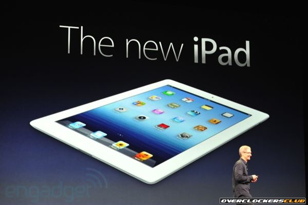 The New iPad is Here