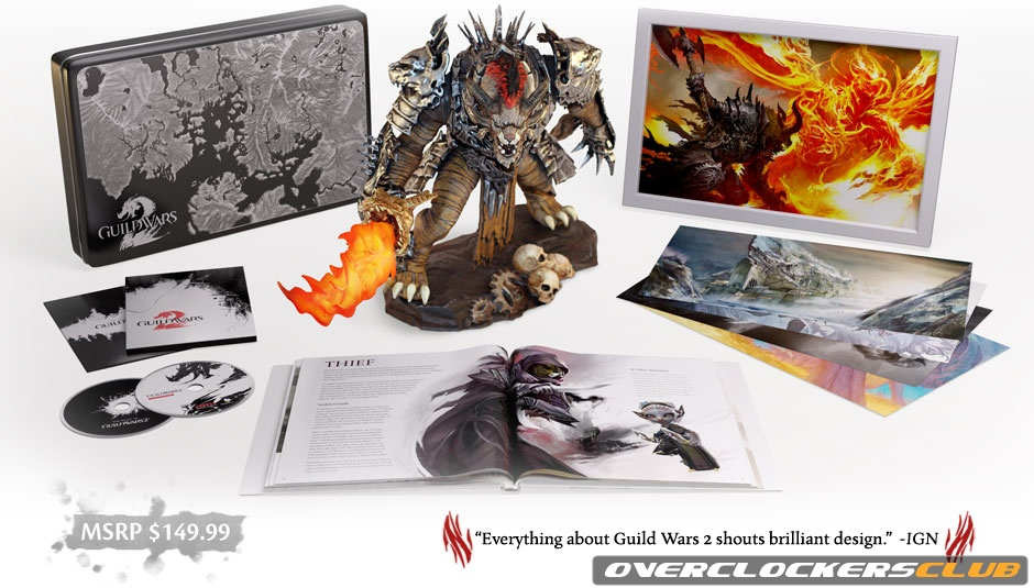 Collector's Edition and System Specifications for Guild Wars 2 Announced