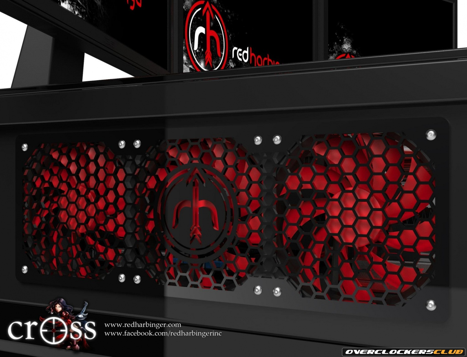 Red Harbinger Transforms Your Desk Into a Monster Gaming PC
