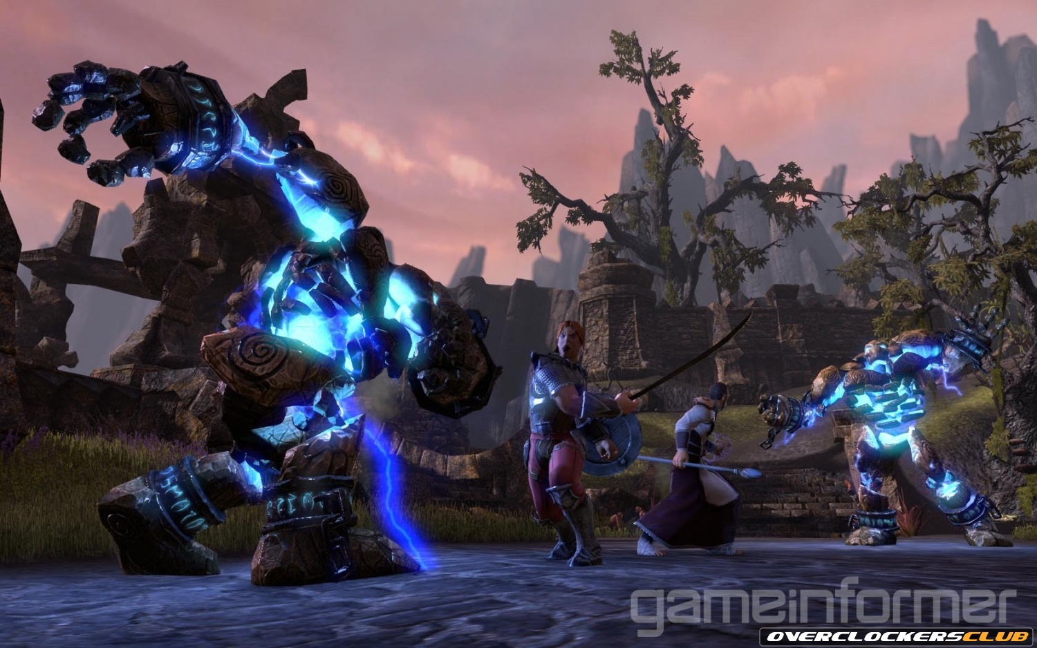 View The Elder Scrolls Online Announcement Trailer