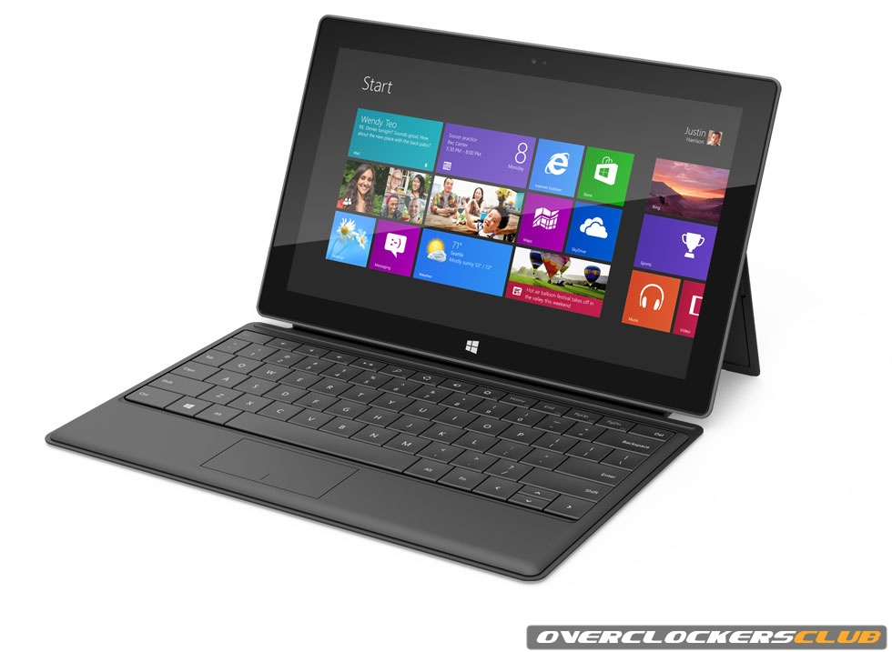 Microsoft Unveils the New Microsoft Surface - Windows 8 Tablet
