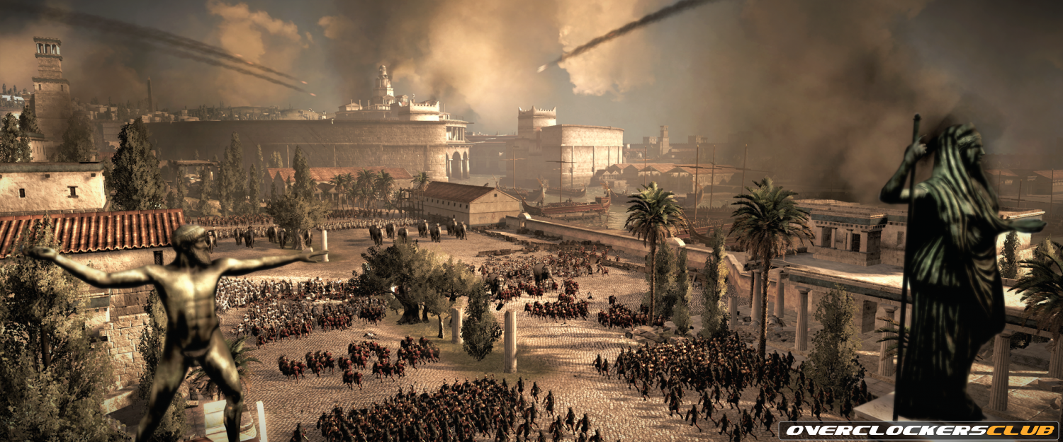 Total War: Rome 2 Screenshots Depict the Battle of Carthage