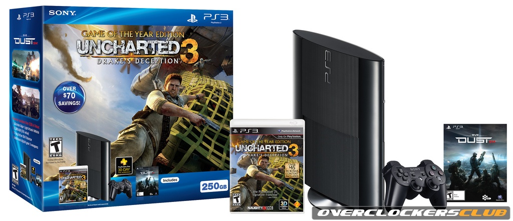 Sony Officially Announces New PlayStation 3 Model