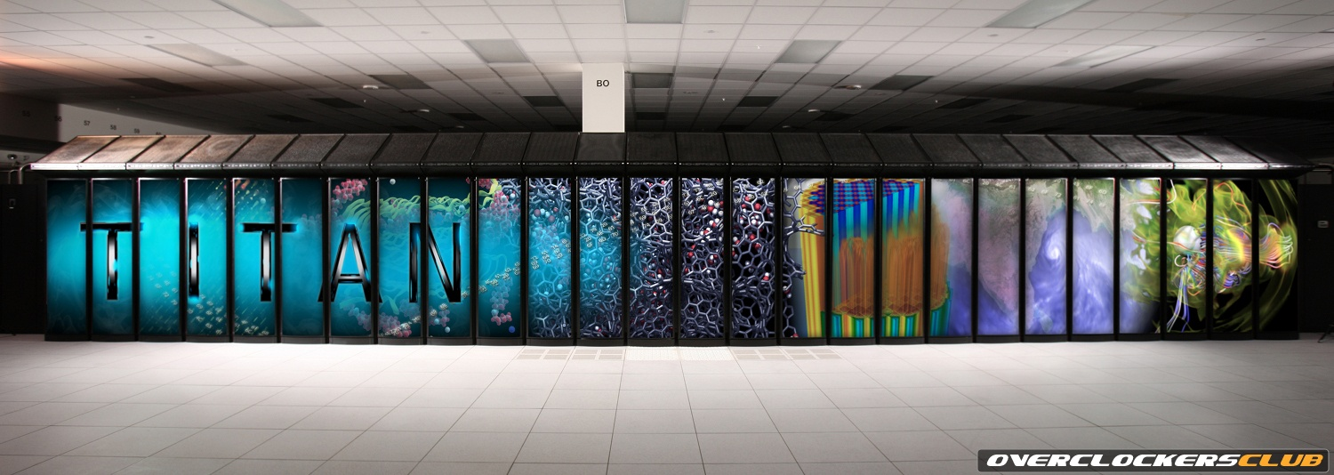 Titan Supercomputer with Hybrid Design Debuts