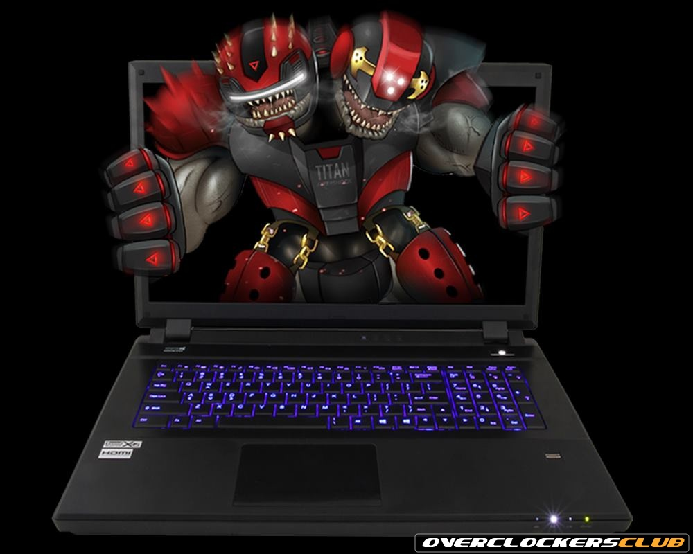 Aftershock's Massive Titan CrossFire Edition Laptop Offers Dual 7970M Setup