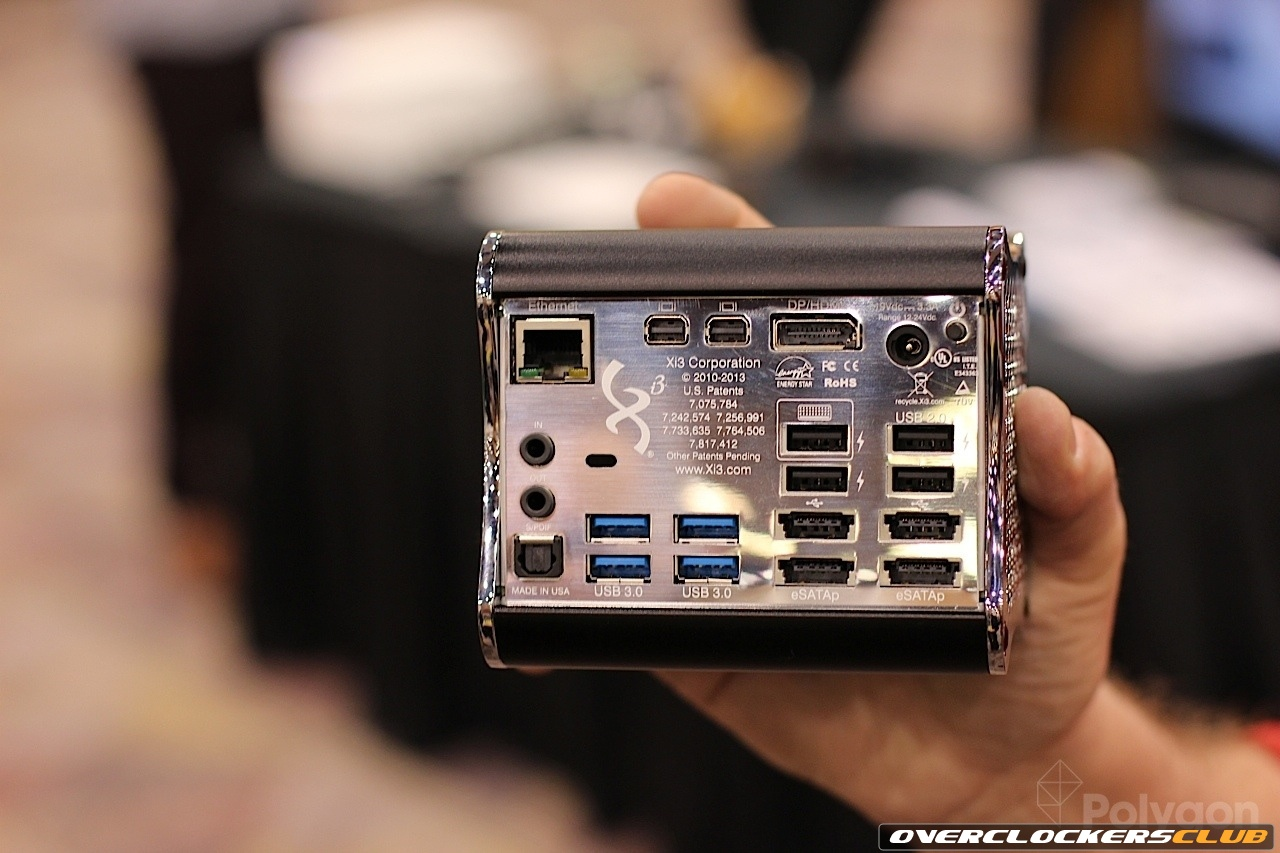 Valve and Xi3's Steam Box Codenamed Piston - One of Several Prototypes at CES