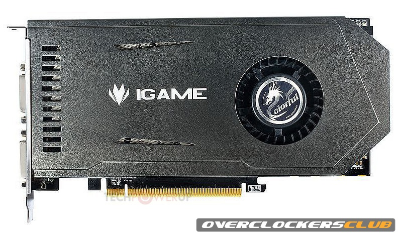 Single-Slot iGame GeForce GTX 650 Ti Announced by Colorful