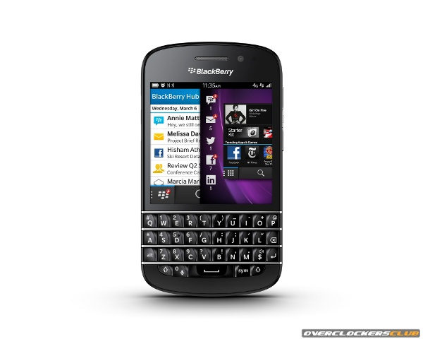 Research In Motion Changes Name to BlackBerry, Formally Unveils Z10, Q10, and BlackBerry 10 OS