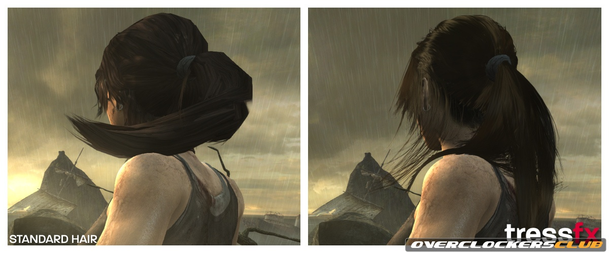 AMD Shows Off New TressFX Hair Rendering Technology in Tomb Raider