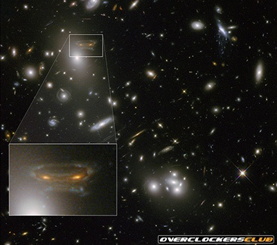 'Space Invaders' Galaxy Discovered?