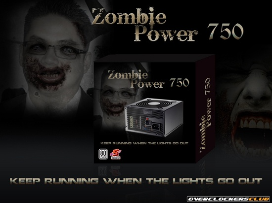 Cooler Master Introduces Zombie Power Series