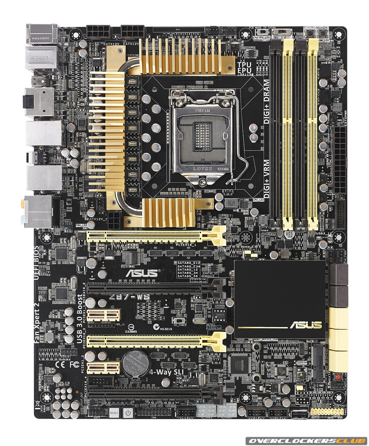 ASUS Shows Off Its New Color Scheme for the Intel Z87 Motherboards