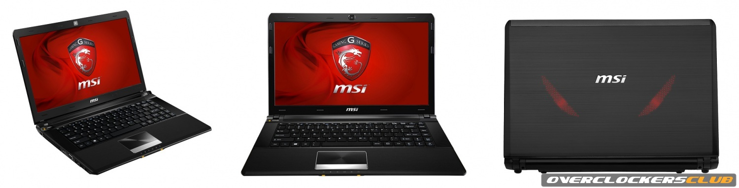 MSI Releases GE40 Gaming Laptop