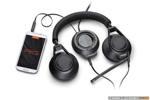 Plantronics Introduces the Cross-Platform RIG Gaming Headset