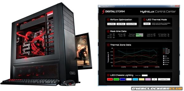 Digital Storm Announces HydroLux Cooling System