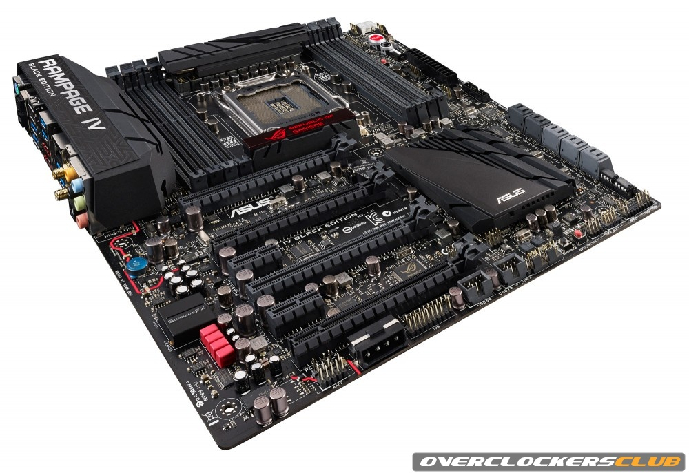 New All Black Republic of Gamers Motherboard Unveiled